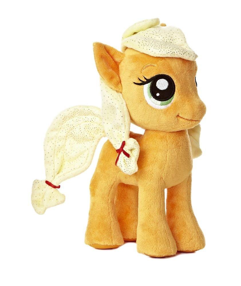 "My Little Pony Aurora Plush Applejack 6.5"" w/FREE PONY BLIND BAG"