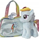My Little Pony Aurora Plush Rainbow Dash Cutie Mark Carrier w/FREE PONY BLINDBAG