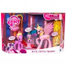 My Little Pony Royal Castle Friends (Celestia, Twilight, Spike) w/FREE BB