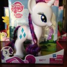 "My Little Pony Deluxe 9"" Brushable Rarity w/FREE Pony Blind Bag"