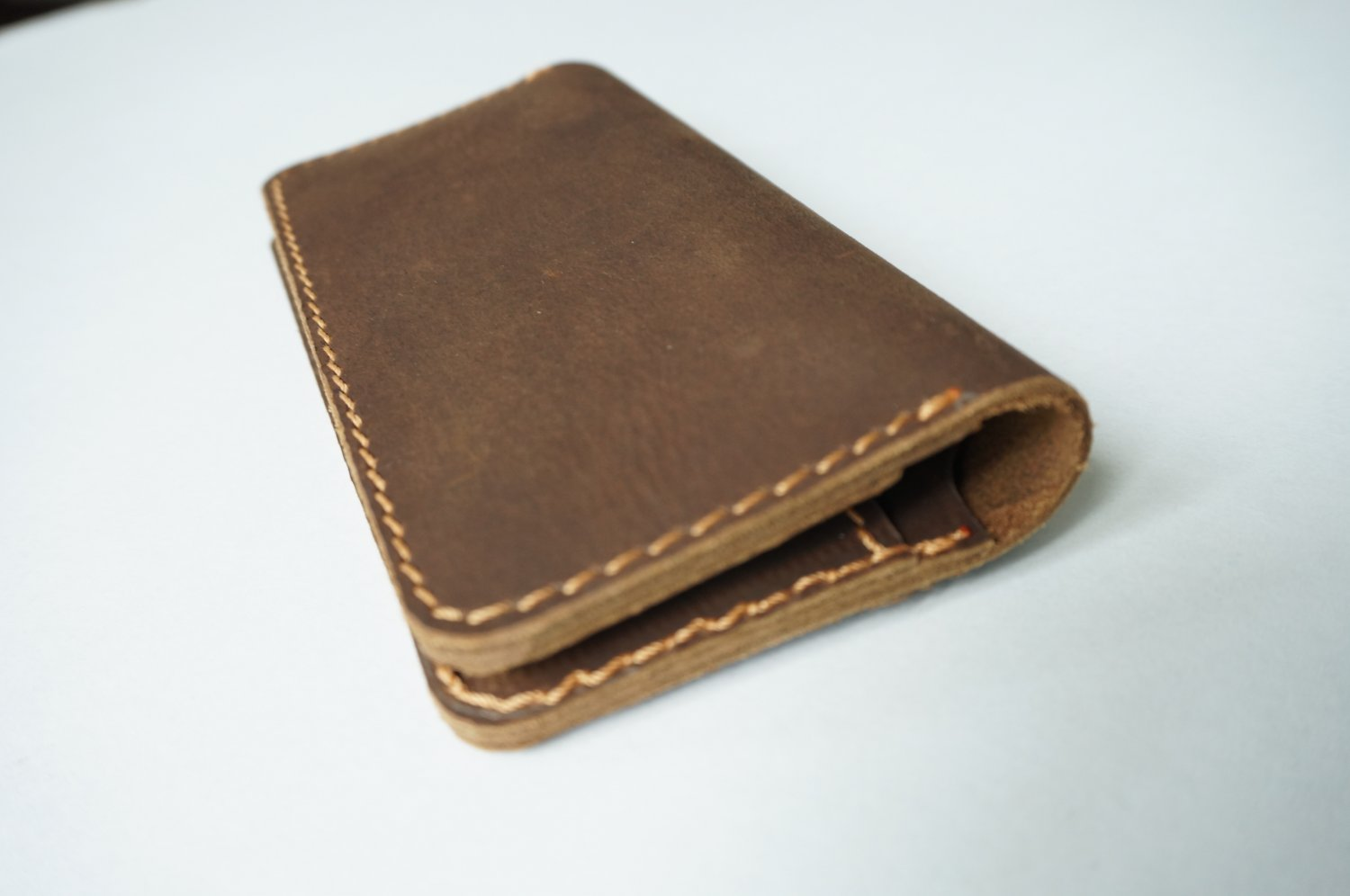 Retro Unisex Leather Wallet Brown Model RLW1281