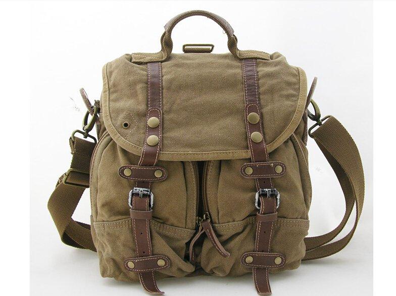 Canvas Messenger Bag Model 2380