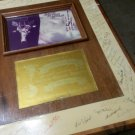nasa defense support program framed signed picture