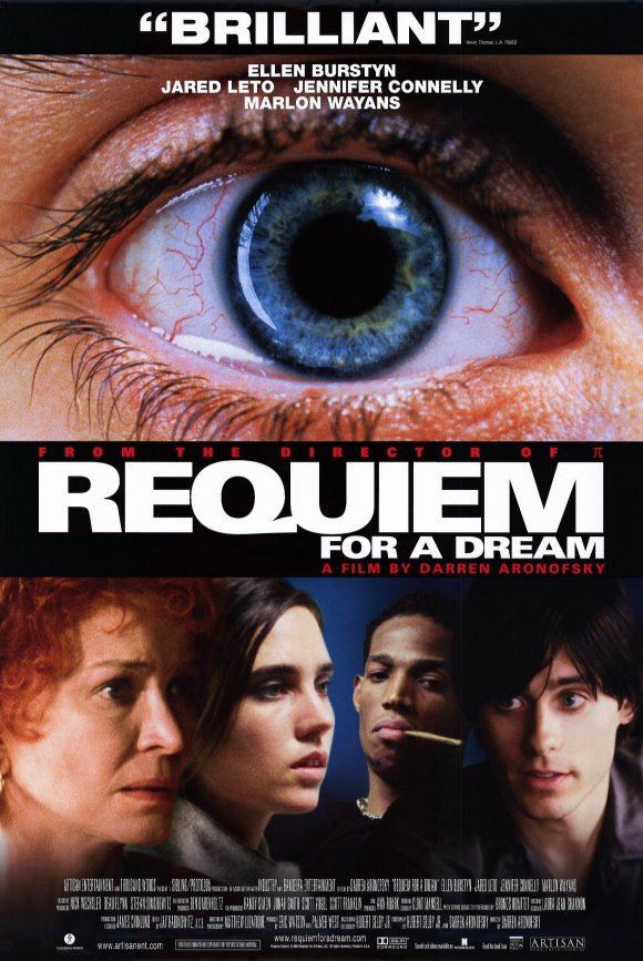 "JARED LETO JENNIFER CONNELLY SIGNED X5 ""REQUIEM FOR A DREAM"" MOVIE SCRIPT RPT"