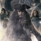 "KIERA KNIGHTLEY JOHNNY DEPP SIGNED ""PIRATES 3 AT WORLDS END"" MOVIE SCRIPT RPT"