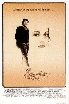 """CHRISTOPHER REEVE JANE SEYMOUR SIGNED """"SOMEWHERE IN TIME"""" MOVIE SCRIPT RPT"""