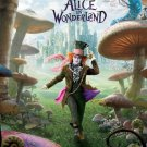 "JOHNNY DEPP ANNE HATHAWAY TIM BURTON SIGNED X9 ""ALICE IN WONDERLAND"" SCRIPT RPT"