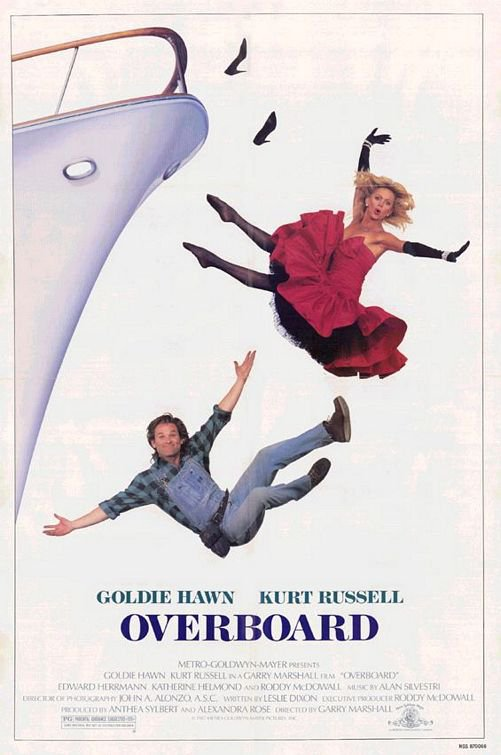 GOLDIE HAWN KURT RUSSELL SIGNED X2 OVERBOARD MOVIE SCRIPT RPT *FREE SHIPPING!!!*