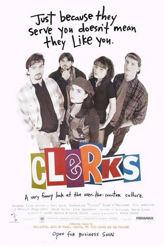 """JASON MEWES & KEVIN SMITH SIGNED """"CLERKS"""" MOVIE SCRIPT RPT *FREE SHIPPING*"""