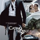 "DANIEL CRAIG JUDI DENCH EVA GREEN SIGNED ""CASINO ROYALE"" JAMES BOND SCRIPT RPT"