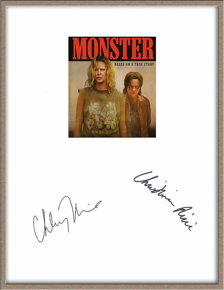 CHARLIZE THERON & CHRISTINA RICCI SIGNED X2 MONSTER MOVIE SCRIPT SCRIPT RPT