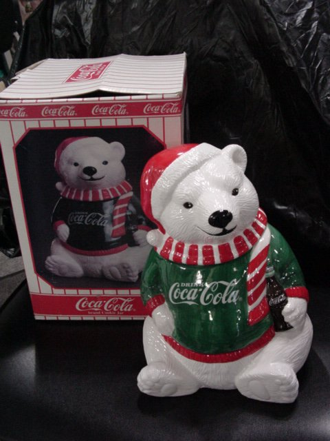 Coca-Cola Brand  Cookie Jar (1995)