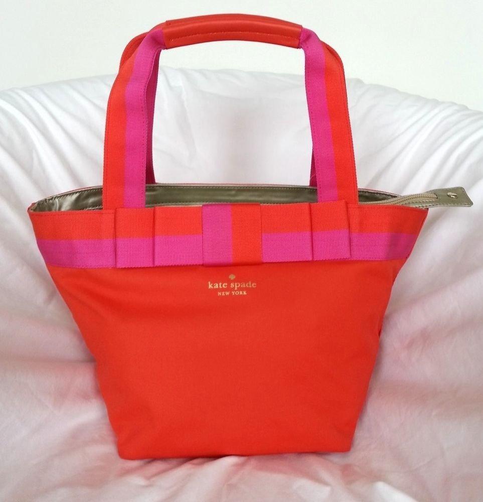 Kate Spade New York Barrow St. Garri Shoulder/Tote Bag in Maraschino NWT: RP$238