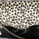 Rebecca Minkoff Cheetah Print Leather Beau Shoulder Bag/Clutch NWT-SRP: $495