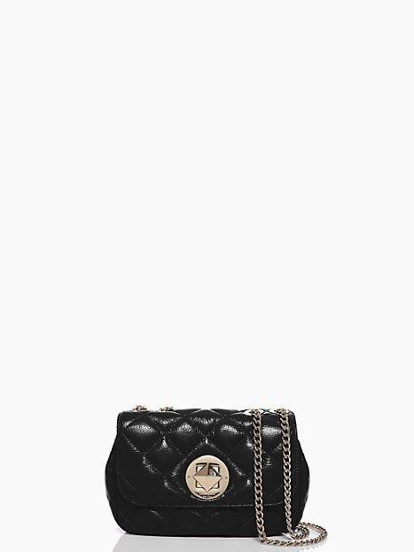 Kate Spade New York Gold Coast Christy Shoulder Bag in Black-NWT:-RP: $398