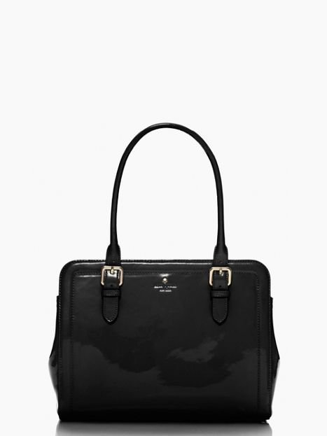 Kate Spade New York Carlisle St. Miles Patent Leather Shoulder Bag NWT: SRP:$428