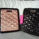 Betsey Johnson Handbag Sequined iPad/Ereader Case/Sleeve Blush, Black-NWT-RP:$68
