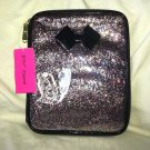Betsey Johnson Zip Around Ereader/iPad/Kindle Multicolor Glitter Case-NWT-SRP$48