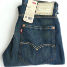 MEN'S LEVI'S 514 Slim Straight Fit Denim Jeans Size 32 x 30-NWT-RP: $64