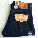MEN'S LEVI'S 501 Original Fit Button Fly Dark Blue Jeans Denim Size 32 x 30-NWT