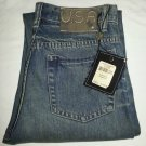 JOHN VARVATOS USA MENS JEANS STRAIGHT LEG SZ 30 X 32 AUTHENTIC FIT-NWT-SRP:$145