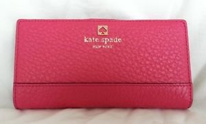Kate Spade New York Southport Avenue Stacy Wallet in Ringwald Pink-NWT-$198