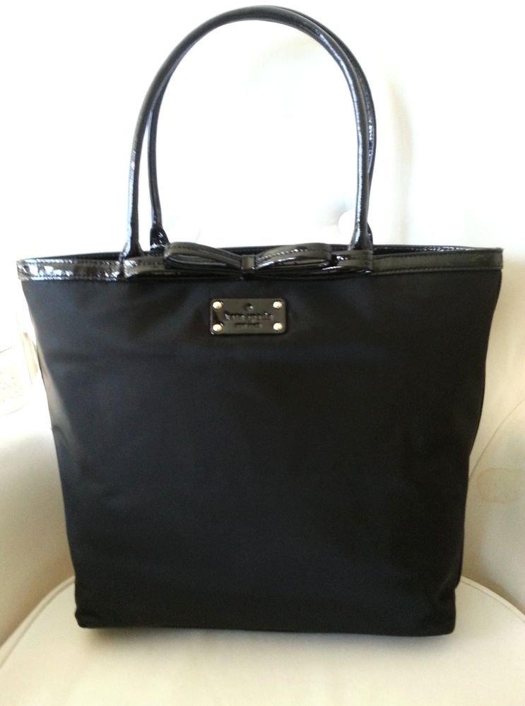 Kate Spade New York Bowrama Louisa Shoulder/Tote Bag in Black NWT: RP$265