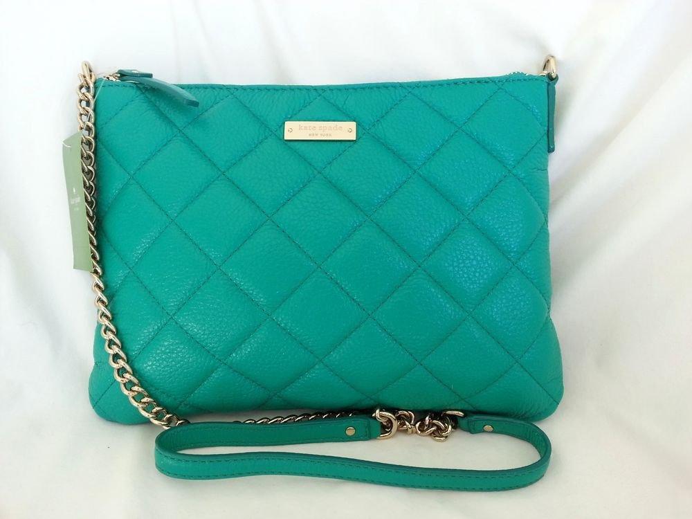 Kate Spade Handbag NEW-Gold Coast Ginnie Crossbody Bag Verna Green-NWT: RP:$248