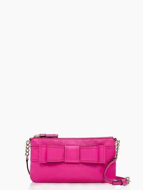 Kate Spade New York Villabella Ave Celina Leather Crossbody Handbag in Pink NWT