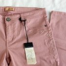 SANCTUARY Denim Embellished Skinny legging Jeans in Pink Rose Size 28 RP$147