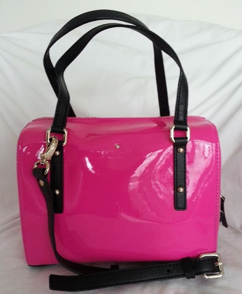 Kate Spade New York Jackson Square Small Damien Handbag in Vivid Pink