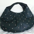Deux Lux Handbag Shiny Star Gazer Hobo Shoulder Bag Purse in Teal