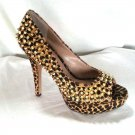 Vince Camuto Mandie Spotted Cheetah Pony Studded Pump Sz. 8 or 8.5-NWB-RP: $198