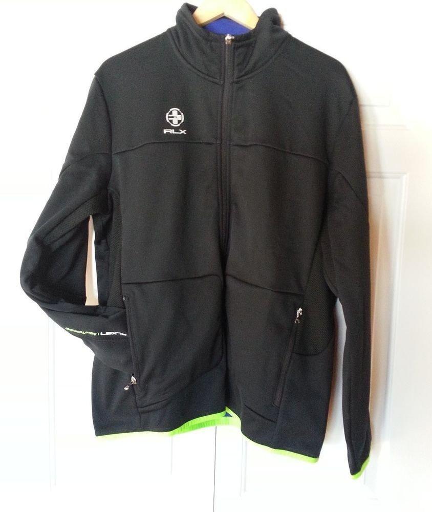 RLX Ralph Lauren Full-zip Alpine Technology RLX67 Jacket in Black-NWT-L-RP: $165
