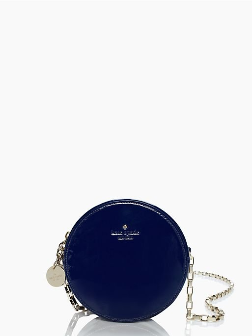 kate spade handbag get out of town dot crossbody bag in blue