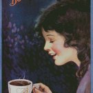 Vintage Bovril Coffee Ad Counted Cross Stitch - Aida 14 Count