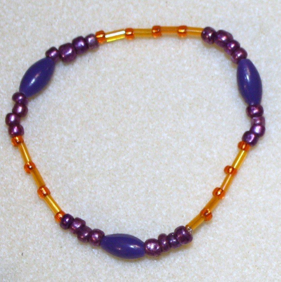 Clemson Fan Bracelet - Item #CLEM1B
