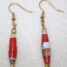 Sunny Hues Paper Bead Earrings - Item #E10