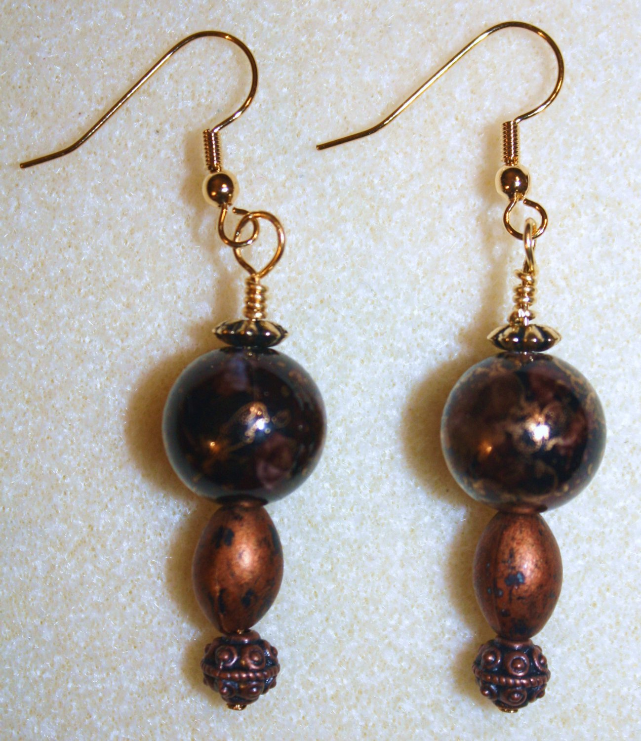Elegant Copper Earrings - Item #E41