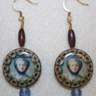 Charming Portrait Earrings - Item #E48