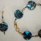 Paint Splatter Bracelet & Earrings - Item #BES18