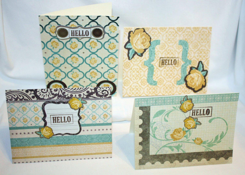 """Hello"" Notecard Set - Item #NCS2"
