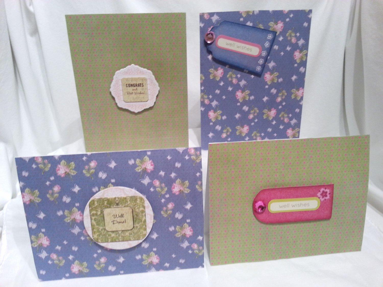 Floral N' Dot Notecard Set - Item #NCS24