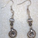 Mollusk Charm Earrings - Item #E135