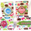 Colorful Menagerie Notecard Set - Item #NCS37