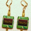 It's the Truth Earrings - Item #E265