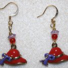 Red Hat Society Earrings - Item #291