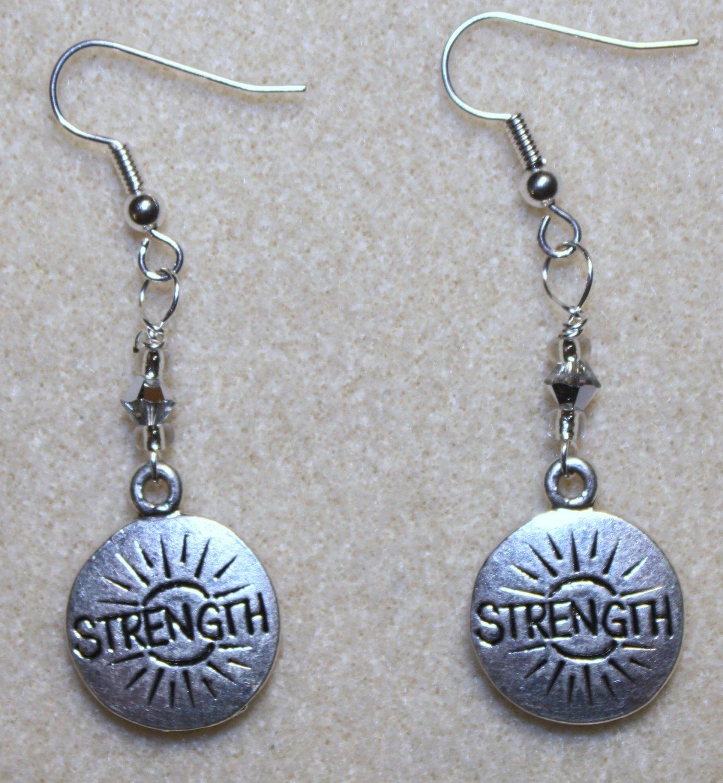 Inner & Outer Strength Earrings - Item #E292