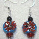 Happy Crab Earrings - Item #E329