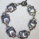 Silver Mollusk Bracelet - Item #BES27